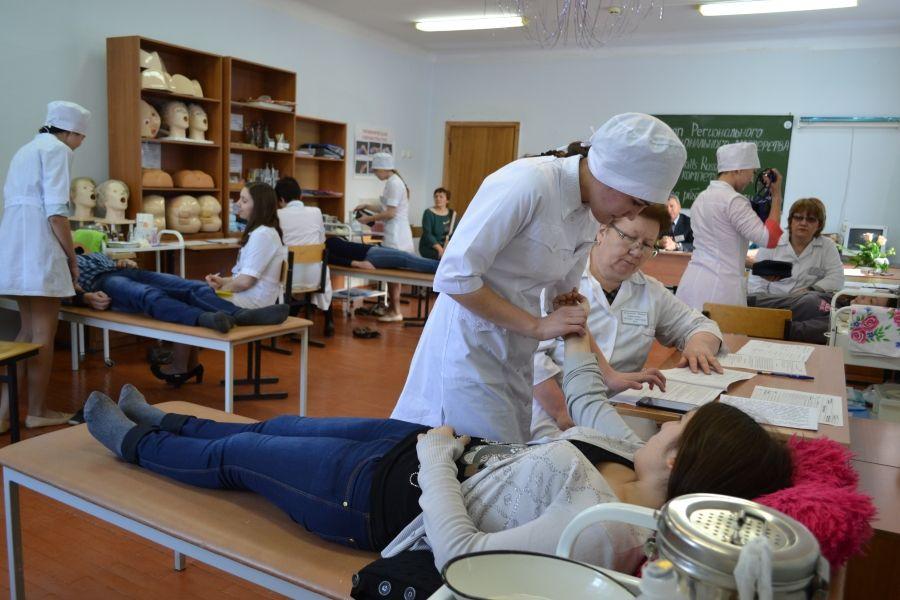 учебная практика в медицинском колледже
